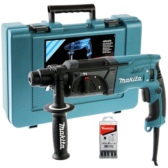 Перфоратор SDS-plus Makita HR2470 Х15 (780 Вт)